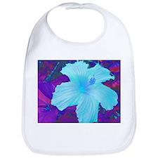 Hibiscus in Blue Bib