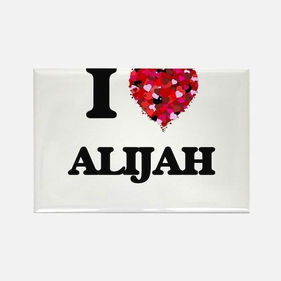 I Love Alijah Magnets
