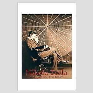 Tesla Universe Large Poster