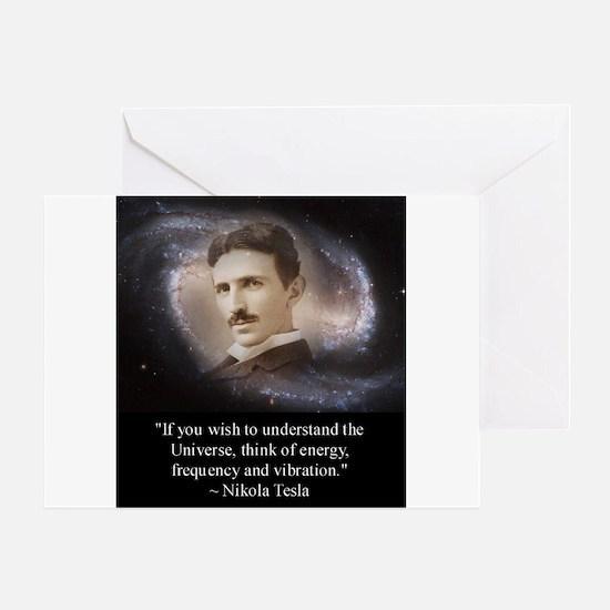 Tesla Universe Greeting Card