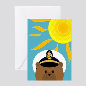 Coast Guard Cadet Summer Miss You Greeting Cards