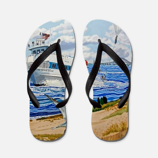 Captree Park Flip Flops