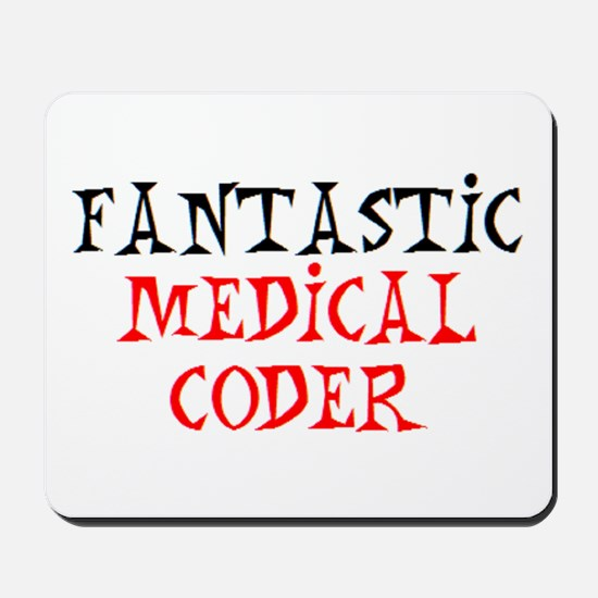 fantastic medical coder Mousepad