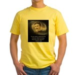 Tesla Universe Yellow T-Shirt