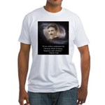 Tesla Universe Fitted T-Shirt