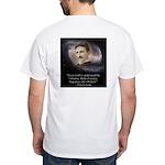 Tesla Universe White T-Shirt