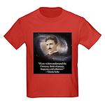 Tesla Universe Kids Dark T-Shirt
