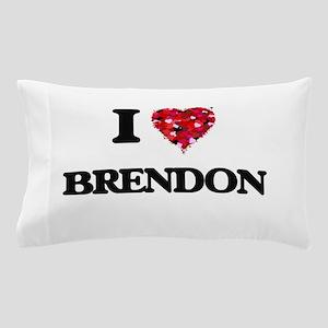 I Love Brendon Pillow Case