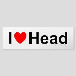 Head Sticker (Bumper)
