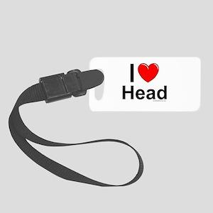 Head Small Luggage Tag