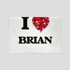 I Love Brian Magnets