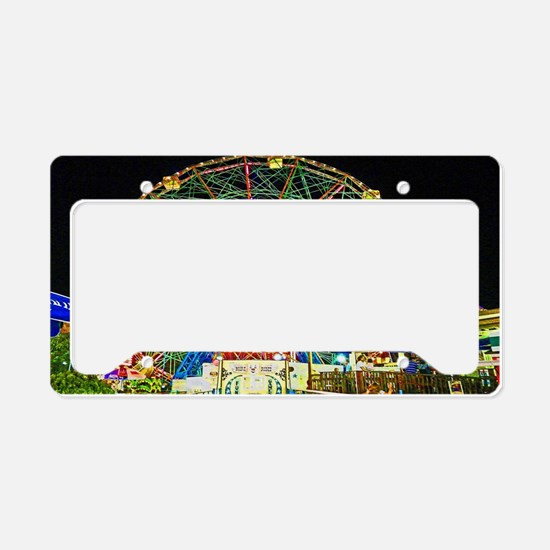 Unique Amusement parks License Plate Holder