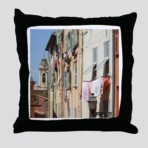 Nice, South of France Throw Pillow