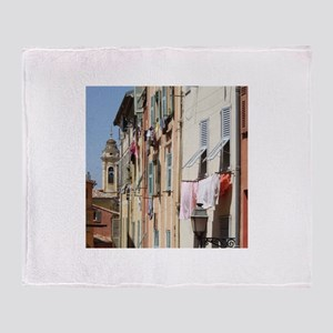 Nice, South of France Throw Blanket