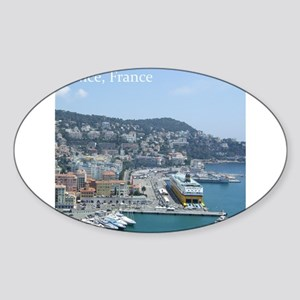 Nice harbor, South of France Sticker