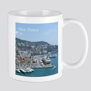 Nice harbor, South of France Mugs