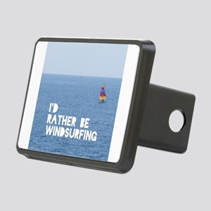 I'd rather be windsurfing Rectangular Hitch Cover