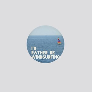 I'd rather be windsurfing Mini Button
