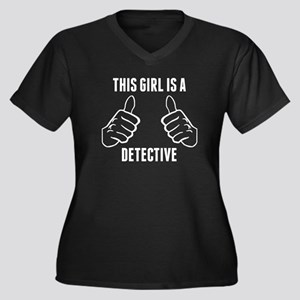 This Girl Is A Detective Plus Size T-Shirt