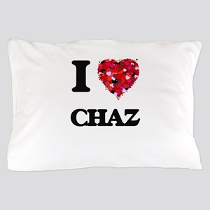 I Love Chaz Pillow Case