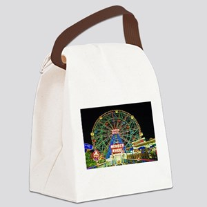 Coney Island's wonderous Wonder W Canvas Lunch Bag