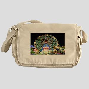 Coney Island's wonderous Wonder Whee Messenger Bag