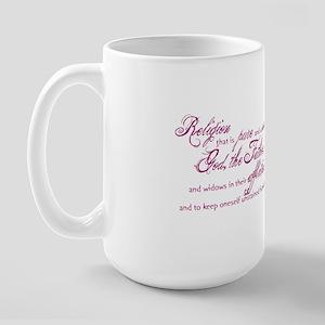 James 1:27 Large Mug Mugs