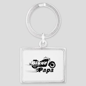Biker Papa Keychains