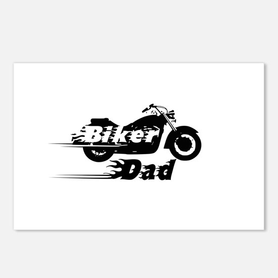 Biker Dad Postcards (Package of 8)