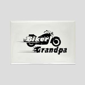 Biker Grandpa Magnets