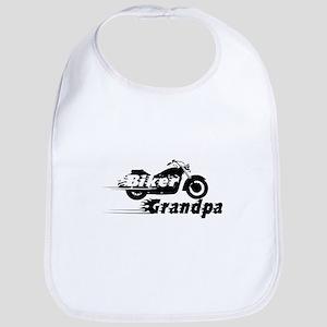 Biker Grandpa Bib