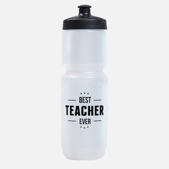 Best Teacher Ever Sports Bottle
