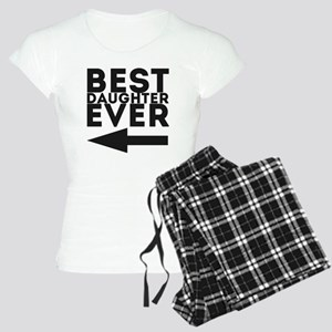 Best Daughter Ever Women's Light Pajamas