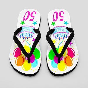 Turning 50 Flip Flops