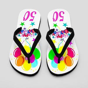 Celebrating 50th Flip Flops