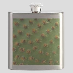 Green cactus Flask