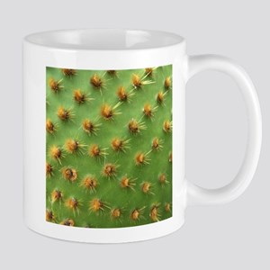 Green cactus Mugs