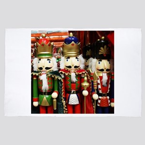Nutcracker Soldiers - Christmas Toy So 4' x 6' Rug
