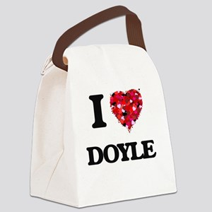I Love Doyle Canvas Lunch Bag