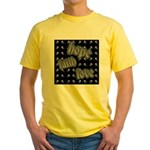 Hope, Faith, Love Yellow T-Shirt