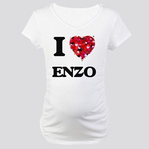 I Love Enzo Maternity T-Shirt