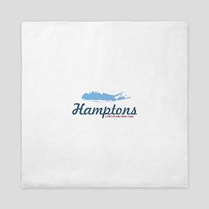 The Hamptons - Long Island. Queen Duvet