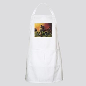 Football Players Painting Apron