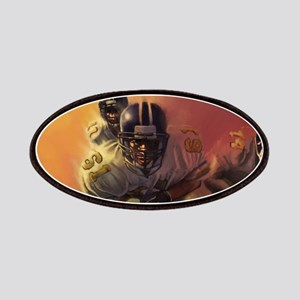 Football Players Painting Patch
