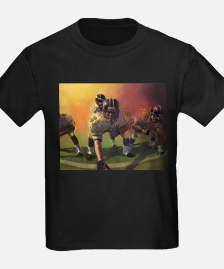 Football Players Painting T-Shirt