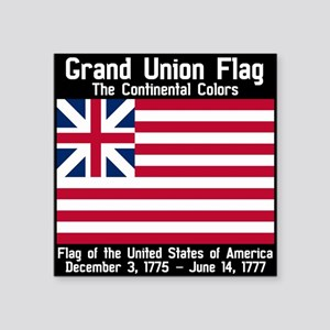 Grand Union Flag Sticker