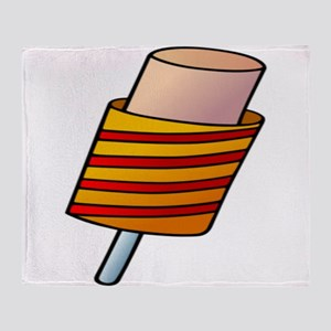 Ice Cream Popup Throw Blanket