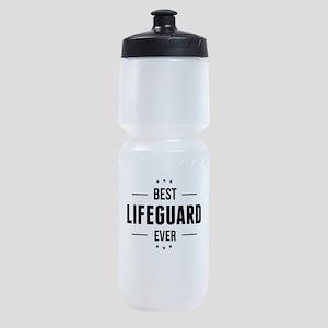 Best Lifeguard Ever Sports Bottle