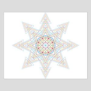 Triangle Mandala Posters