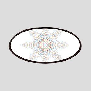 Triangle Mandala Patch